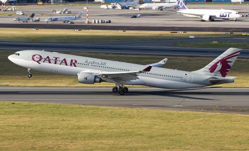 Żegnając Warszawę - w kierunko Doha - Katar