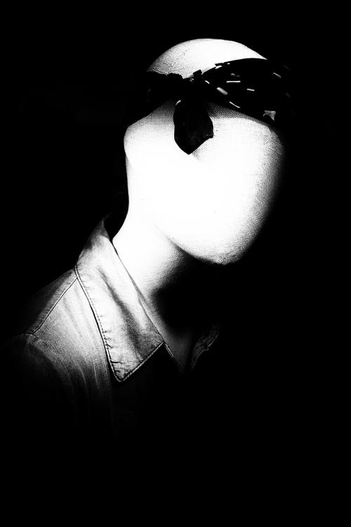 Portrait - without a face