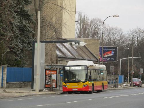 """Scania Citywide CN280UB 4x2 EB CNG, #9696, """"Michalczewski"""" sp. z o.o / Oddz. Warszawa"""