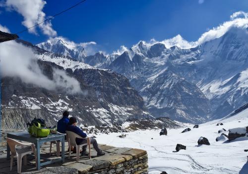 Annapurna Base Camp (4130 m.n.p.m.) www.czterykranceswiata.com