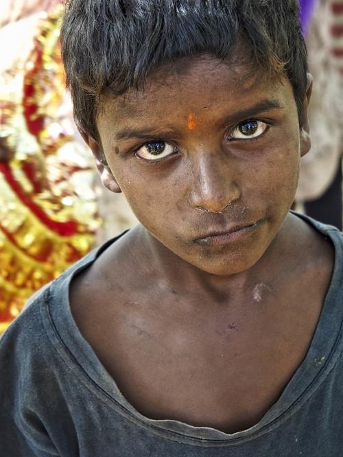 Bezdomne dzieci, Indie.