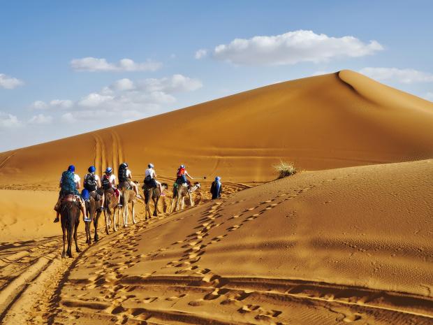 Karawana, Sahara