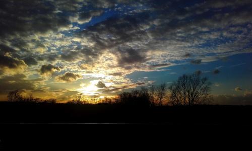 ale to był zachód słońca