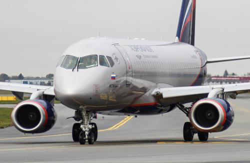 W dniu wczorajszym w katastrofie spłonął po nieszczęśliwym wypadku jeden z rosyjskich samolotów, który odwiedzał także nasze lotnisko.