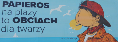 Może i tak, ale strój iście plażowy ;-)