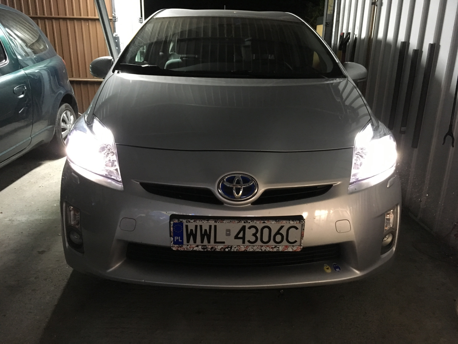 Toyota Klub żarówka Oświetlenia Tablicy Rejestracyjnej Piii