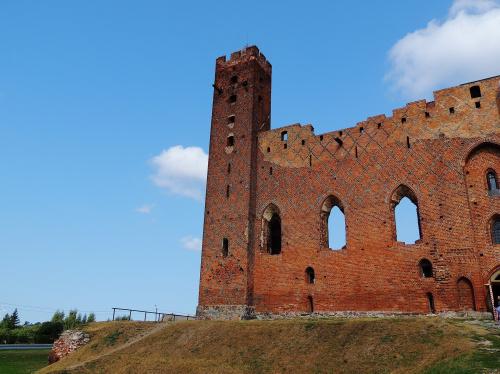 ruiny zamku w Radzyniu