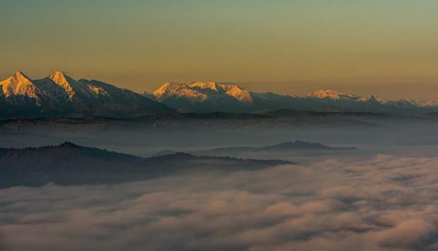 W otulinie mgły