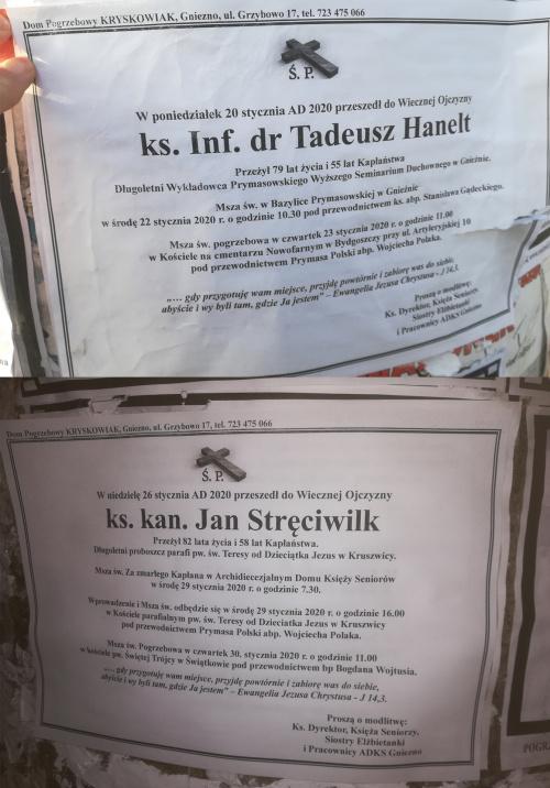 Klepsydra ks Tadeusz Hanelt Klepsydra ks Jan Stręciwilk