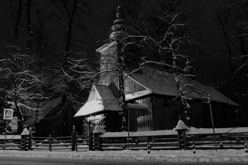 """stary kościółek"" w Zakopanem"