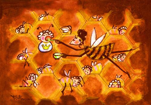 Pszczółki : Królewna
