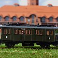 Model wagonu osobowego w ruchu lokalnym P.K.P. Skala 1:87. Epoka II #PKP #wagon #towarowy H0