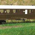 Model wagonu osobowego typu włoskiego w zarządzie kolei PKP. Skala 1:87. Epoka IIIc. #PKP #wagon #osobowy