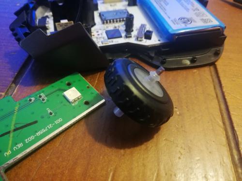 corsair ironclaw wireless rgb steel wheel axis fix