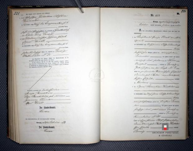 1879 M akt 652 cz. 1