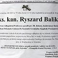 ks.kan. Ryszard Balik #księża #Gniezno