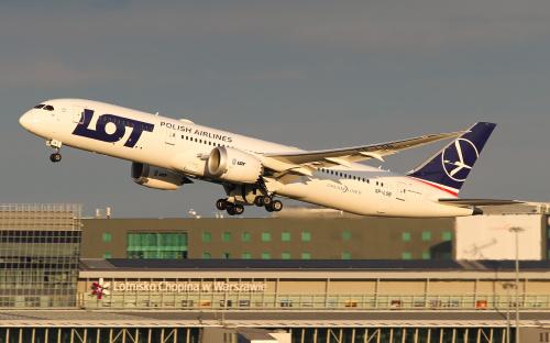 Pożegnanie lata :) Już za kilka tygodni Dreamlinery będą startować po ciemku :)