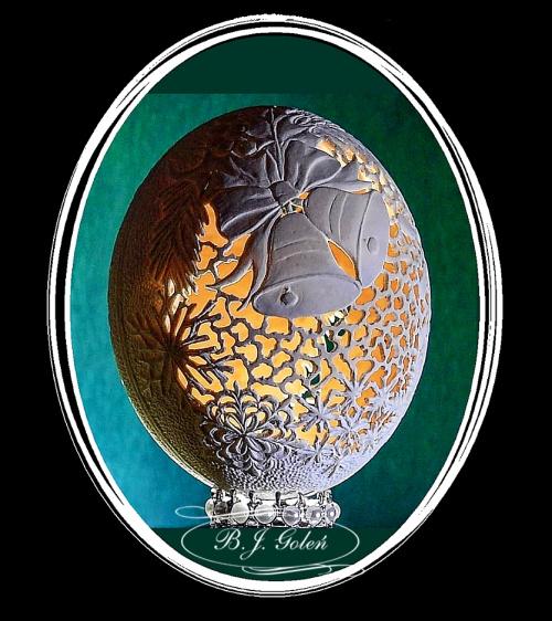 Boże Narodzenie #strusie jajko