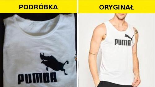 #Podróbka koszulki Puma
