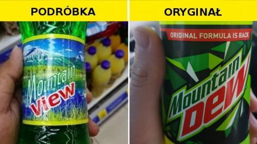 #Podróbka Mountain Dew