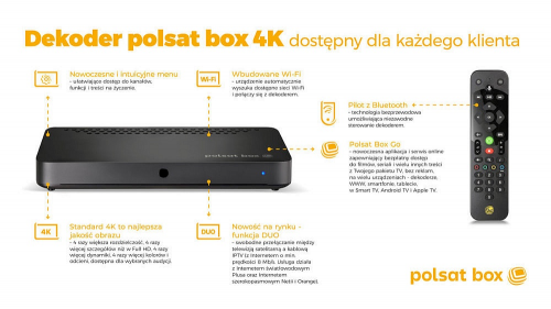 Dekoder polsat box 4K