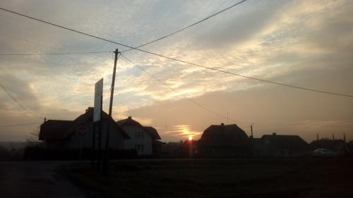Zachód Słońca - Bulowice