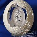 strusie jajko #eggart #strusiejajkorzeźbione #jajkozdedykacją #prezent #podwójnejajko #strusiejajko #carving #bjgoleń #eggart